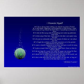 Optimist's Creed - Orb Poster