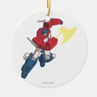 Optimus 3 ceramic ornament