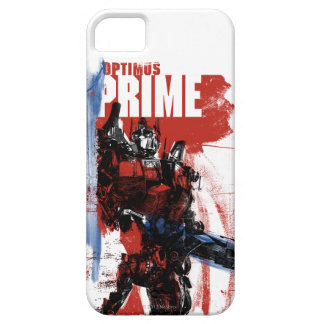Optimus Prime Brush Strokes iPhone 5 Covers