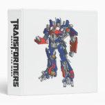 Optimus Prime Line Art 2 Vinyl Binders