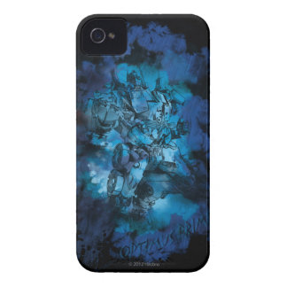 Optimus Prime Stylized Sketch 2 Case-Mate iPhone 4 Case