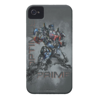 Optimus Prime Stylized Sketch iPhone 4 Cases