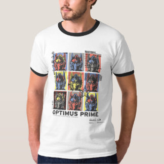 Optimus Prime Wanted Poster T-Shirt