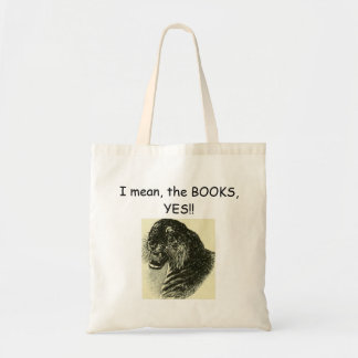 Option: Book! Tote Bag