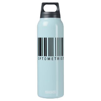 Optometrist Barcode Insulated Water Bottle