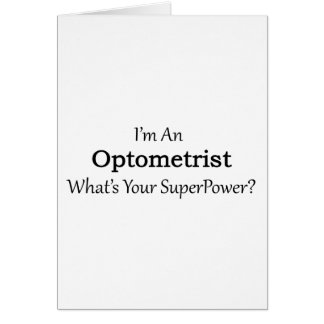 Optometrist Card