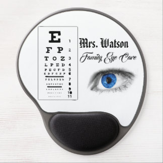 Optometrist Ophthalmologist Eye Destiny'S Destiny Gel Mouse Pad