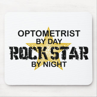 Optometrist Rock Star by Night Mouse Pad