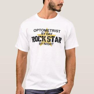 Optometrist Rock Star by Night T-Shirt