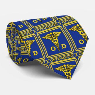 Optometrist Shield Tiled Tie
