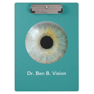Optometrist Theme Personalized Acrylic Clipboard