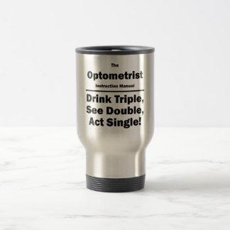 optometrist travel mug