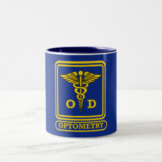 Optometrist Two-Tone Coffee Mug