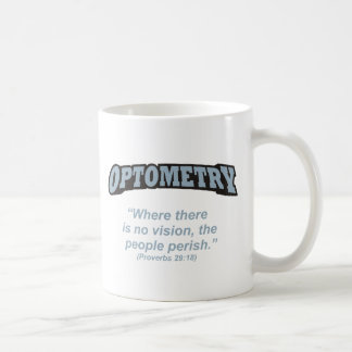 Optometry / Perish Coffee Mug