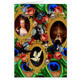 Opulence Greeting Card