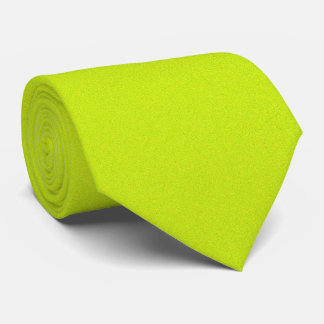 OPUS 1111 Fluorescent Yellow Tie