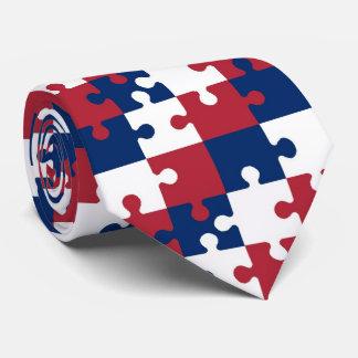 OPUS American Jigsaw Puzzle Pieces Tie