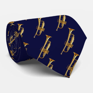 OPUS CHANGEABLE Golden Trumpet Tie
