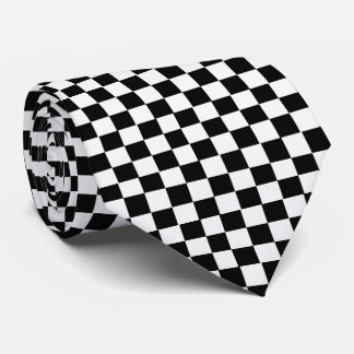 OPUS Checkered Floor Tie