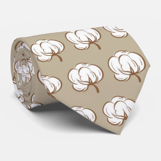 OPUS Cotton Boll - Double Sided Tie