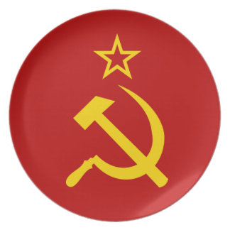 OPUS Hammer and Sickle Plate