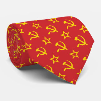 OPUS Hammer and Sickle Tie
