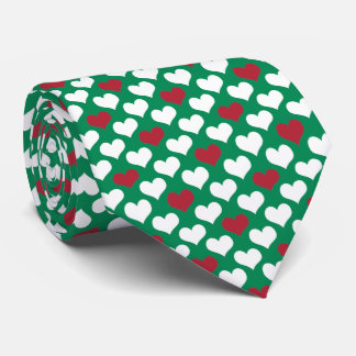 OPUS Hungarian Flag for Valentine's Day Tie