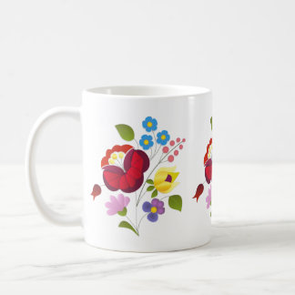 OPUS Hungarian Flower Embroidery Coffee Mug