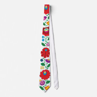 OPUS Hungarian Flower Embroidery Tie