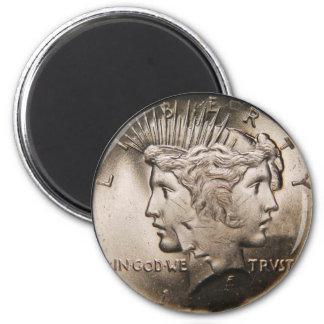 OPUS Rare Faulty Coin Magnet
