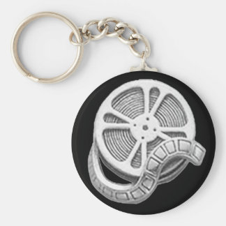 OPUS Silver Film Reel Keychain