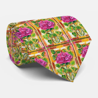 OPUS Tiffany Rose - Double Sided Tie