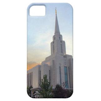Oquirrh Mountain LDS Utah Temple sunset iPhone 5 Cases