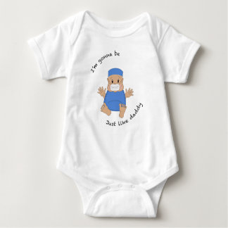 OR daddy Baby Bodysuit