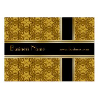Or de noir d'affaires de carte de profil de relief modèle de carte de visite