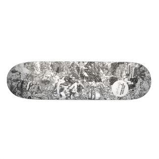 Or Noir by Hannah Stouffer Skate Board Deck