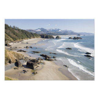 OR, Oregon Coast, Ecola State Park, Crescent 2 Photo Print