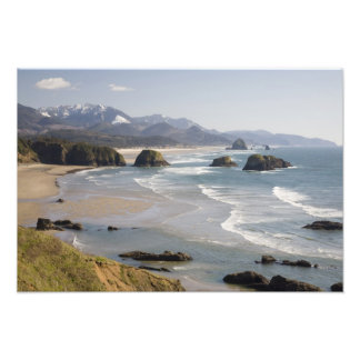 OR Oregon Coast Ecola State Park Crescent Photographic Print
