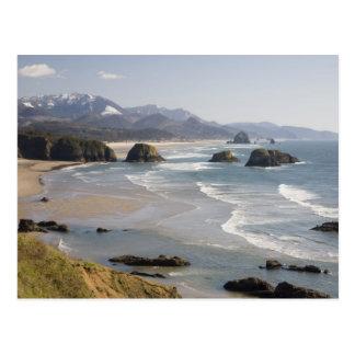 OR, Oregon Coast, Ecola State Park, Crescent Postcard