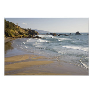 OR Oregon Coast Ecola State Park Indian Photographic Print