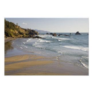 OR, Oregon Coast, Ecola State Park, Indian Photograph