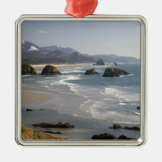OR, Oregon Coast, Ecola State Park, view of Metal Ornament