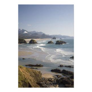 OR, Oregon Coast, Ecola State Park, view of Art Photo