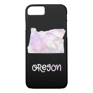OR Oregon State Iridescent Opalescent Pearly iPhone 8/7 Case