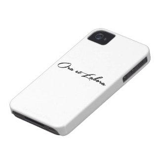 Ora et Labora iPhone 4 Case-Mate Cases
