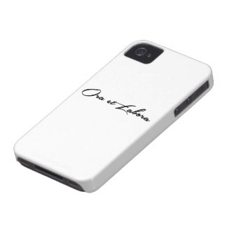 Ora et Labora iPhone 4 Cover