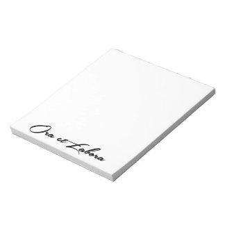 Ora et Labora Notepad