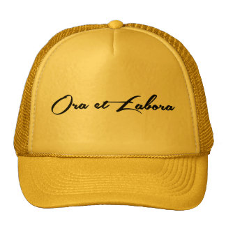Ora et Labora Trucker Hat