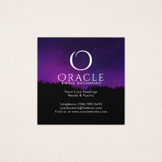 Oracle and Psychic Business Cards