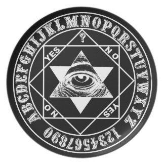 Oracle Mystic Eye Witch Board Plate